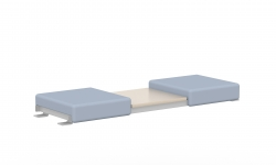 Two Seat Bench Bridge, Centre Table Top Model Thumbnail