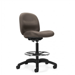 Low Back Task Stool, Standard Seat, Armless Model Thumbnail