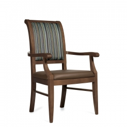 Wood Armchair Model Thumbnail
