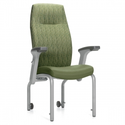 High Flex Back Patient Chair, Headrest, 20