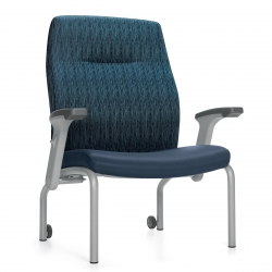 High Back Bariatric Patient Chair Model Thumbnail