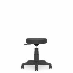 "13.5"" Dia. Swivel Stool, 5"