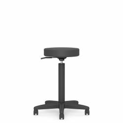 "13.5"" Dia. Swivel Stool, 10"