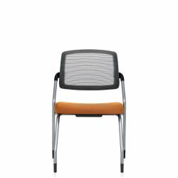 Armless Flip Seat Nesting Chair, Glides Model Thumbnail