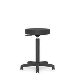 "16"" Dia. Swivel Stool, 10"