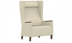 Bariatric Single Seater Wingback Armchair, Headrest Model Thumbnail