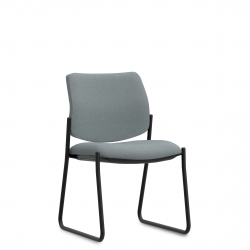 Low Single Piece Back Side Chair, Sled Base Model Thumbnail