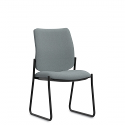 High Single Piece Back Side Chair, Sled Base Model Thumbnail