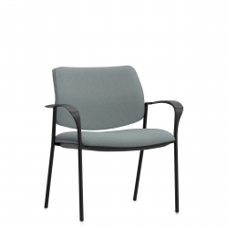 Low Single Piece Back Mid Size Armchair Model Thumbnail