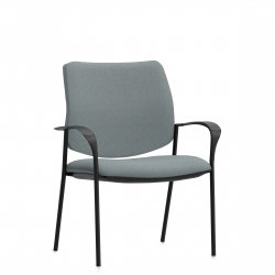 High Single Piece Back Mid Size Armchair Model Thumbnail