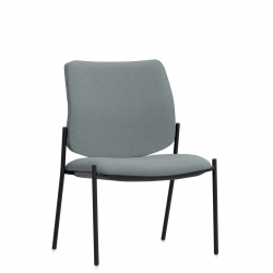 High Single Piece Back Mid Size Side Chair Model Thumbnail